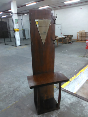Art deco hall stand coat stand