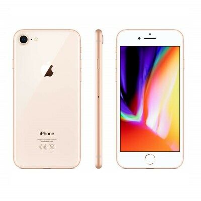 Iphone 8 Ricondizionato 64Gb Grado B Oro Gold Originale Apple Rigenerato