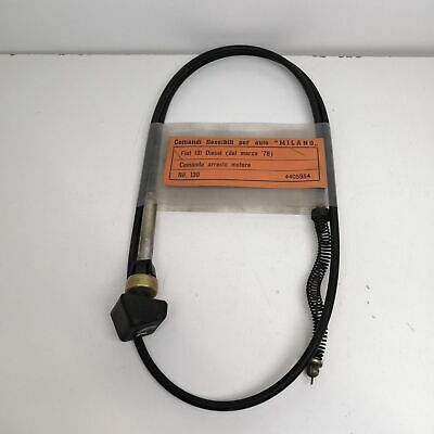 CAVO  ARRESTO MOTORE FIAT 615 N1 ENGINE STOP CABLE
