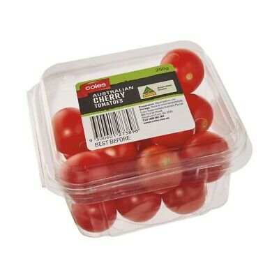 Coles Cherry Field Tomatoes Prepacked 250g