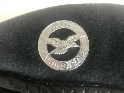 """British-Issue """"Air Training Corps"""" Beret and  Badge"""