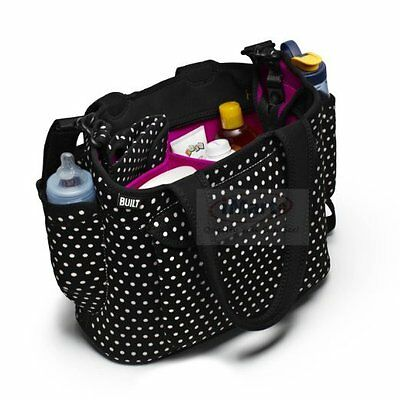 Built NY Go-Go Diaper Tote Shoulder Baby bag with Nappies Change Mat NEW