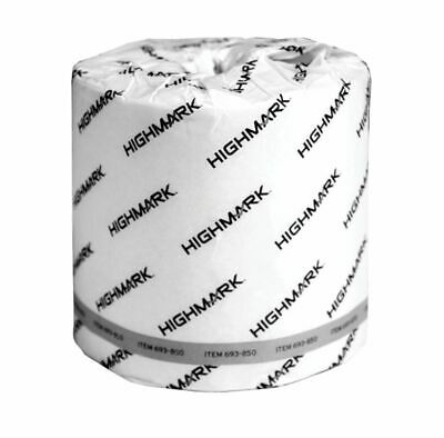 Highmark 2-Ply Bath Tissue, 100% Recycled, White, 550 Sheets Per Roll, 40 Rolls