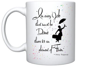 Mothers Day Gift  Mary Poppins Quote Coffee Mug Magic Mug Gift For Her Birthday