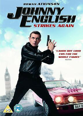 Johnny English Strikes Again [DVD + Digital Copy, 2018] BRAND NEW WITH FREE P&P!