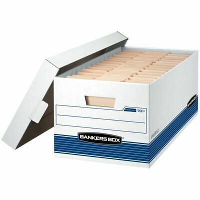 """Bankers Box® Stor/File™ 60% Recycled Storage Box, Lift-Off Locking Lid, 24"""" x 15"""