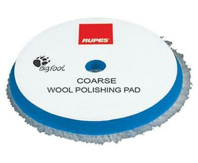 "3.5"" Rupes Blue Coarse Wool Cutting & Polishing Pad - For 3"" 80mm Backing"