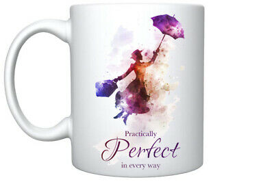 Mothers Day Gift  Mary Poppins Quote Coffee Magic Mug Gift For Her Birthday