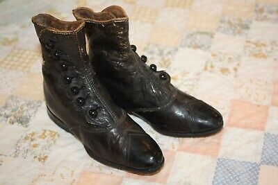 Vintage Victorian Baby Shoes Child's Shoes