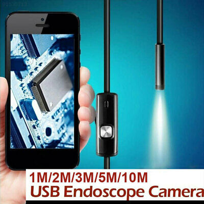 Android Endoscope 3 in 1 LED Portable Inspection Camera Borescope 1/2/3.5/ 5 m