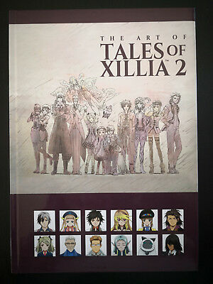 COLLECTOR- Artbook Tales Of Xillia 2