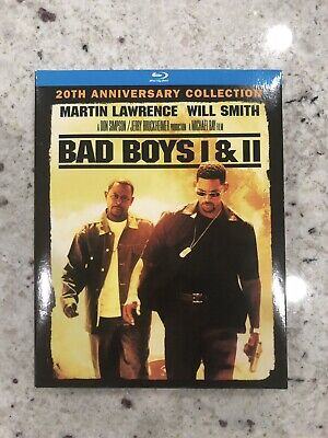 Bad Boys 1 & 2 Blu-Ray 20Th Anniversary Collection