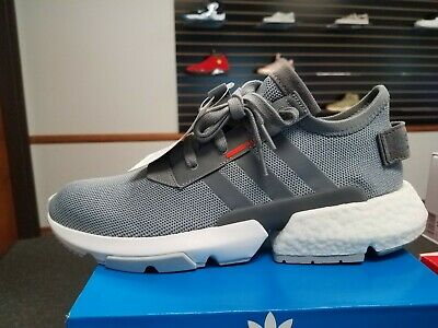 huge discount 023e7 c7562 Brand New In Box Men s Adidas Running Shoes Pod-S3.1 B37365 Grey