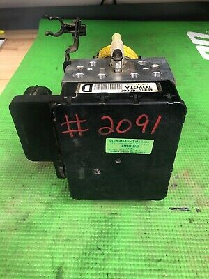 90 Day Wrnty Lexus Rx400H Highlander Hybrid Abs Pump Actuator 44510-48060 # 2091