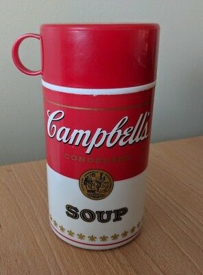 Campbell's Soup Can-Tainer Insulated Hot Food Thermos Container