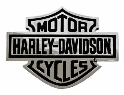 Harley-Davidson Bar & Shield Chrome Injection Molded Emblem, Chrome CG9107