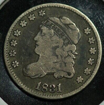 1831 Capped Bust Half Dime 5C Coin