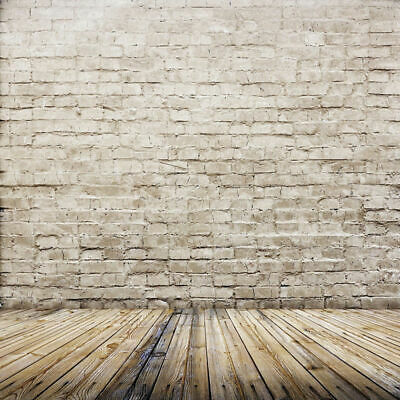 Brick Wall Vinyl Studio Backdrop Photography Props Photo Background 5x7FT Board