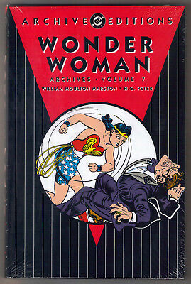 DC Golden Age Wonder Woman Archives Edition Vol 7 FS Hardcover HC Doctor Psycho