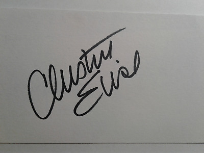 Christine Elise AS Kyle Authentic Hand Signed 3X5 INDEX CARD - CHILD'S PLAY 2