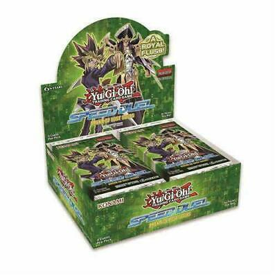 Yugioh Speed Duel Arena of Lost Souls Booster Box 1st Edition Factory Sealed