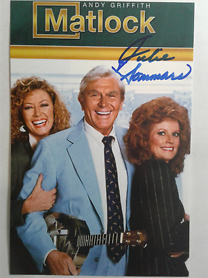 Julie Sommars Authentic Hand Signed Autograph 4X6 Photo - MATLOCK ANDY GRIFFITH