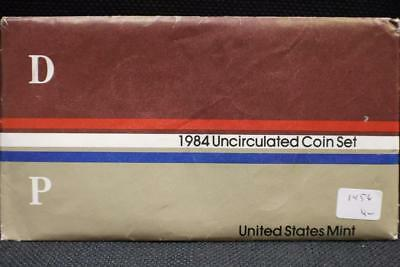 United States Mint 1984 Uncirculated Coin Set P-D Mints