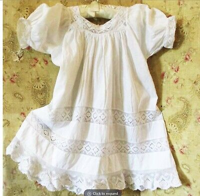 Antique Edwardian Baby Doll Dress