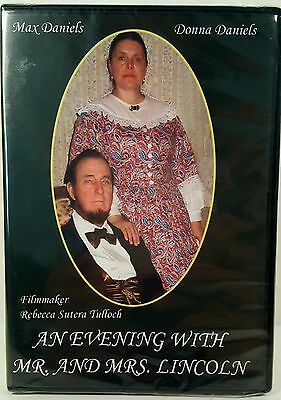 An Evening With Mr. And Mrs. Lincoln DVD