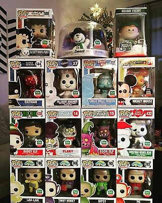 Funko Pop 12 Days Christmas Bundle Pillsbury Doughboy ChillyWilly Mickey Ad Icon