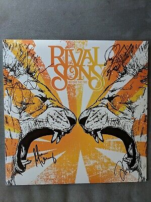 Rival Sons Before The Fire Rare Vinyl. Signed by band!!!!!