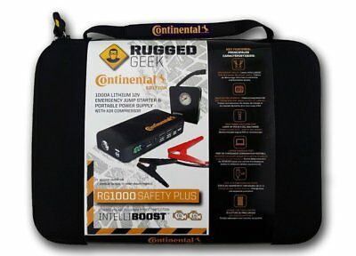 Rugged Geek Sale Jump Starter And Portable Power Supply Was $189.99 Now $139.99