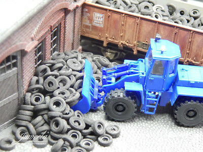 40% OFF! ~ HO scale WAGON LOAD 'CAR TYRES' ~ suit RAILWAY, MODEL TRAIN