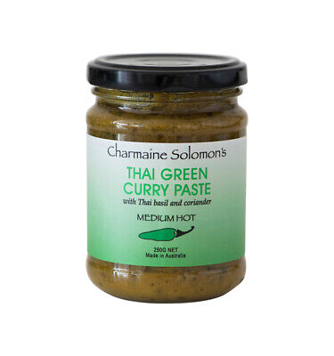 Charmaine Solomon's Thai Green Curry Paste 250g