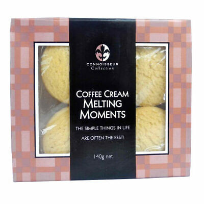 Connoisseur Collection Coffee Cream Melting Moments 140g