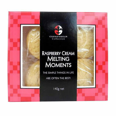 Connoisseur Collection Raspberry Cream Melting Moments 140g