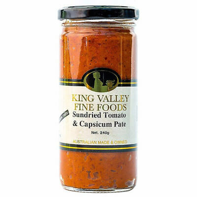 King Valley Fine Foods Sundried Tomato & Capsicum Pate 240g
