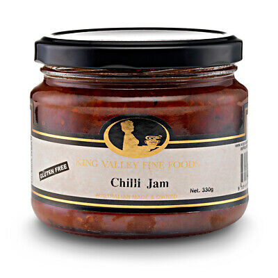 King Valley Fine Foods Chilli Jam 330g