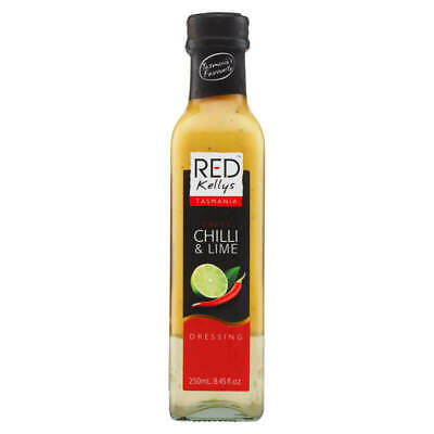 Red Kelly   s Tasmania Sweet Chilli & Lime Dressing 250ml