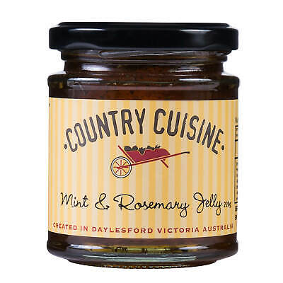 Country Cuisine Mint & Rosemary Jelly 220g