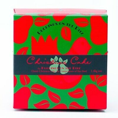 Puddings on the Ritz Christmas Cake in Box 200g,500g,1.4kg