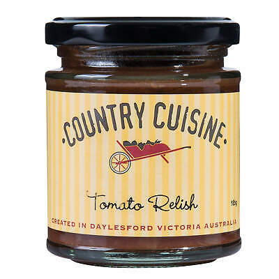 Country Cuisine Tomato Relish 185g