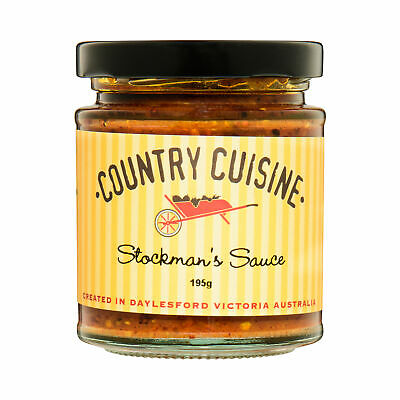 Country Cuisine Stockman's Sauce 195g