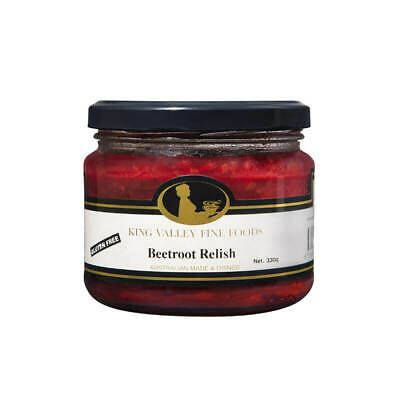 King Valley Fine Foods Beetroot Relish 330g