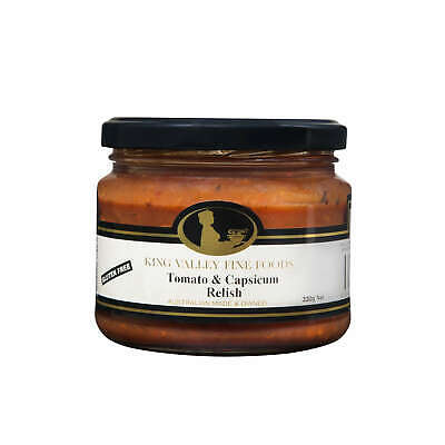 King Valley Fine Foods Tomato & Capsicum Relish 300g