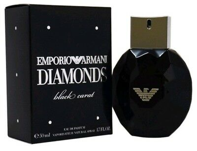 Emporio Armani Diamonds Black Carat Edp #50 Ml #New Boxed Cellophane