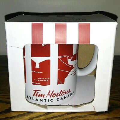 Rare 2016 Tim Horton's Collection Atlantic Canada Coffee Mug Cup Series 1 New