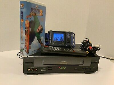 Toshiba W 528 Vcr Vhs Player Recorder With Remote Tested Works