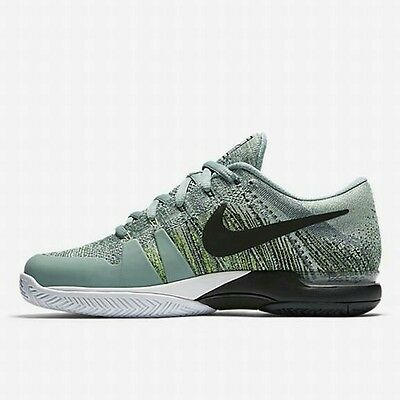 646925bf70f1 Nike Zoom Vapor Flyknit - UK 12 (EUR 47.5 Electric Green 885725 001 New with