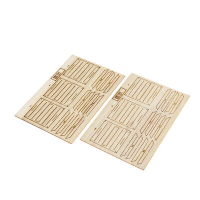 1//35 Unpainted Military Soldier Wooden Box Mode DIY for Sand Table Scenery